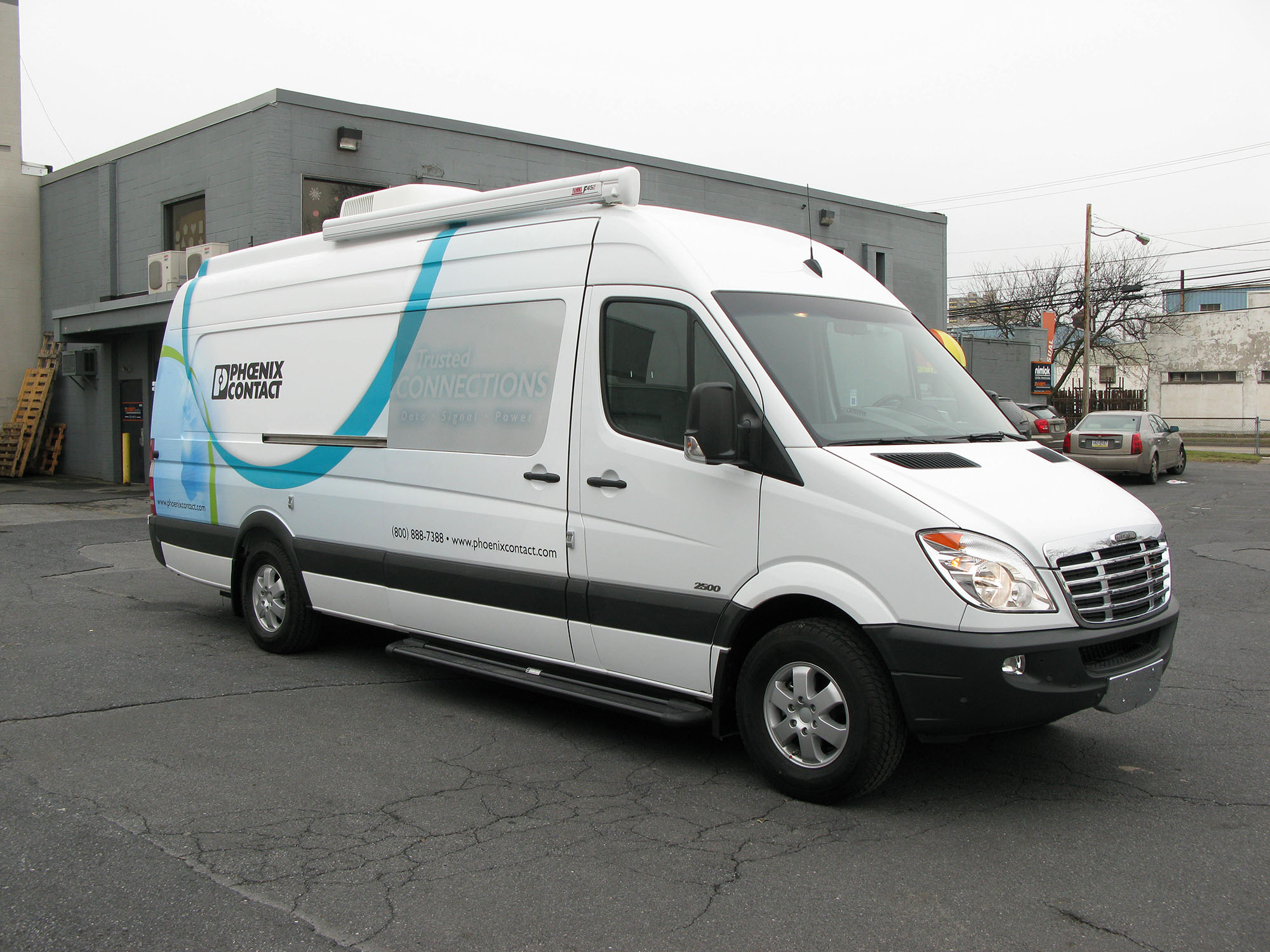 mobile marketing van