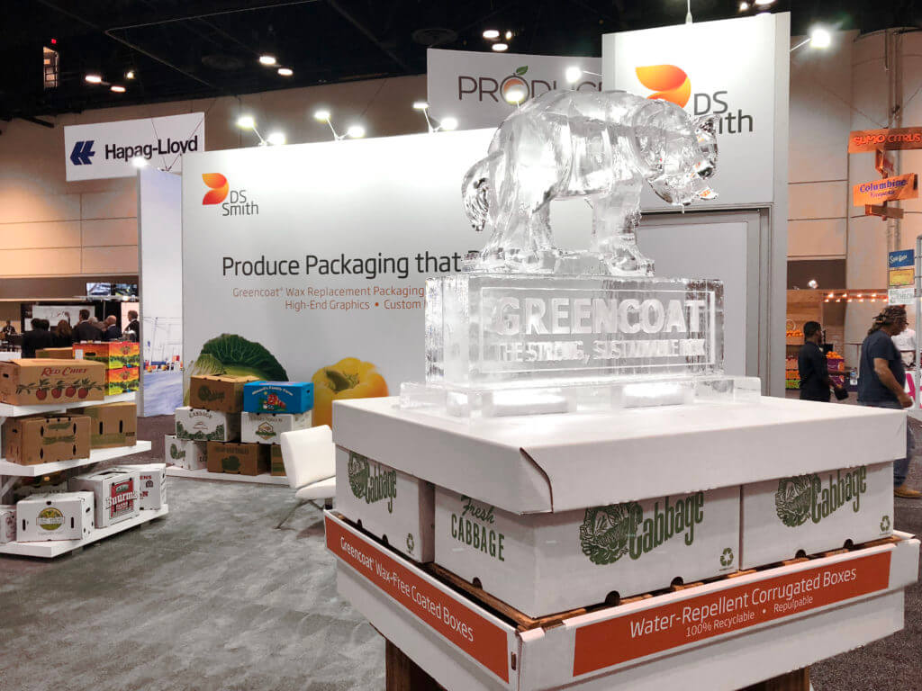 DS Smith produce packaging trade show booth